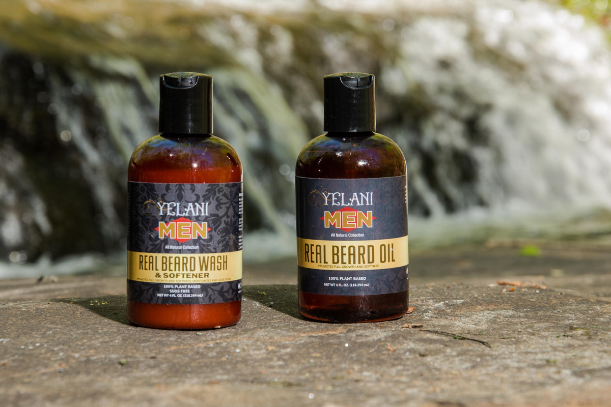 wash beard oil softener yelani plant based natural