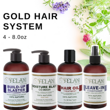 Load image into Gallery viewer, YELANI  Gold HAIR SYSTEM - 4 piece 8 oz bundle