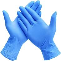 Powder Free Nitrile Medical Exam Gloves - 100 count