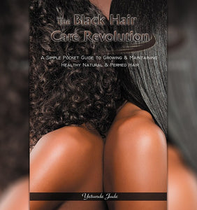 black hair care book natural hair by Yetunde Jude