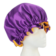 Load image into Gallery viewer, Reversible Satin Caps, bonnets