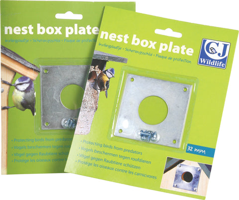 Nest Box Protection Plate - GalaWildlife