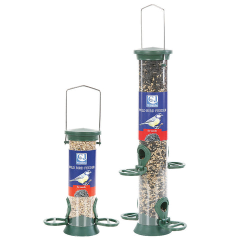 CJ Wildlife Plastic Seed Feeders - Gala Wildlife