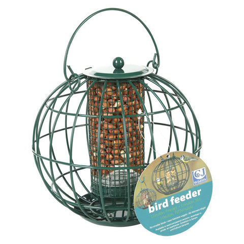 CJ Wildlife Round Caged Peanut Feeder - GalaWildlife