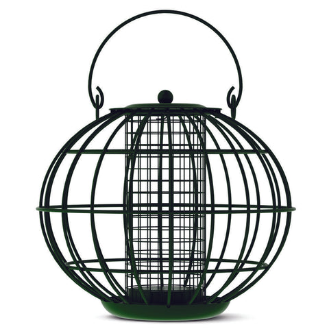 CJ Wildlife Round Caged Fat Ball Feeder - Gala Wildlife