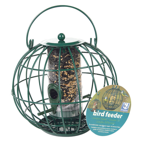 CJ Wildlife Round Caged Bird Feeder - Gala Wildlife
