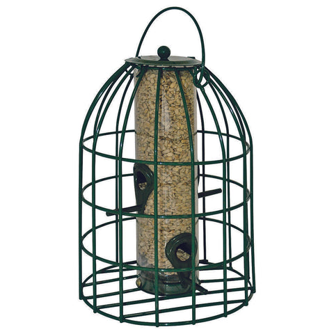 CJ Wildlife Bell Caged Seed Feeder - Gala Wildlife