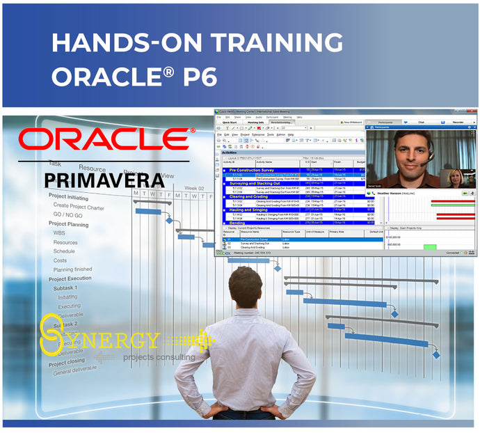 Live Online Instructor-led Primavera P6 Fundamentals Course