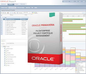Oracle Primavera P6 Enterprise Project Portfolio Management - Full User Perpetual License (5% Discount)