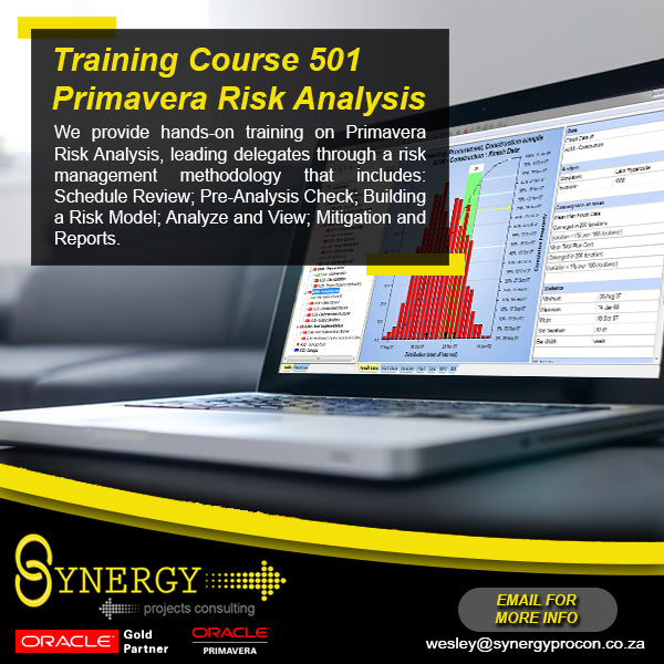 Live Online Instructor-led Primavera Risk Analysis Course