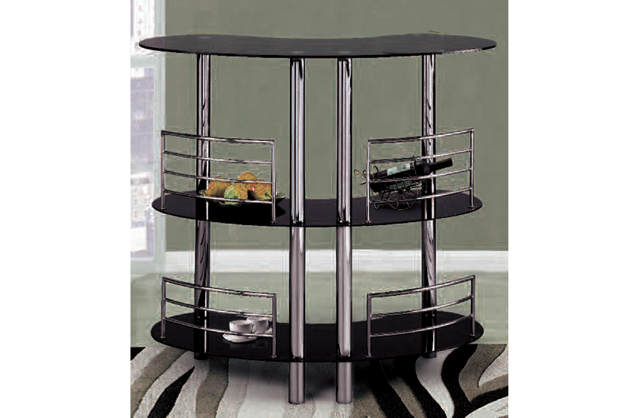 3 Tier Glass Bar (2 Colors Available)