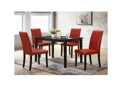 4159/4107RD 5pc Dining Room Set