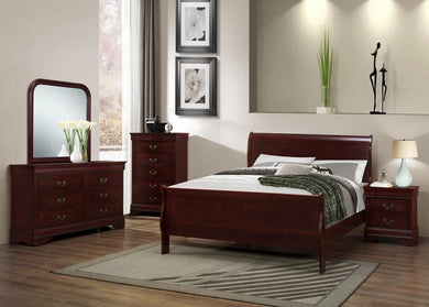8008 Louis Phillipe 8 Piece Queen OR Full Bedroom Set