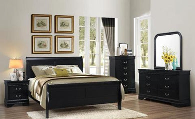 Louis Philippe 8pc Bedroom Set