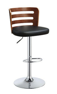 Camila Black / Walnut Bar stool