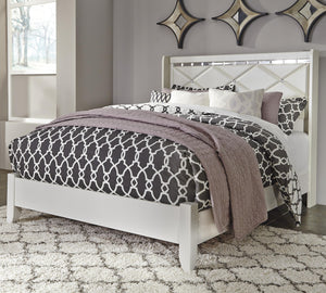 Dreamur - Champagne - Queen Panel Bed