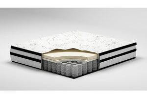 CHIME 10 INCH HYBRID - WHITE MATTRESS
