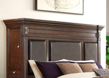 Load image into Gallery viewer, MARSEILLE CHERRY Bedroom Set 7PCS. BED,DR,MR,CH,NS,2 TOWERS.