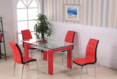 3003RD/2650RD Dining Room Set (Two Colors Available)