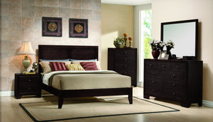 8700 Kari Bedroom Set 5 PCS  Q-BED,DR,MR,CH,NS