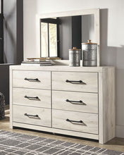 Load image into Gallery viewer, Cambeck - Whitewash - 7 Pc. - Dresser, Mirror, Queen Panel Bed & 2 Nightstands