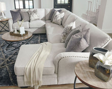 Load image into Gallery viewer, Dellara - Chalk - LAF Loveseat, Wedge, Armless Loveseat & RAF Corner Chaise Sectional