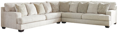 Rawcliffe - Parchment - LAF Sofa, Wedge & RAF Sofa Sectional