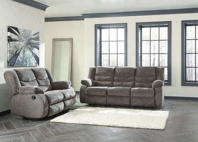 Tulen - Gray - REC Sofa & REC Loveseat