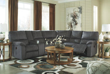Load image into Gallery viewer, Urbino - Charcoal - LAF DBL REC Loveseat with Console, Wedge & RAF REC Loveseat Sectional