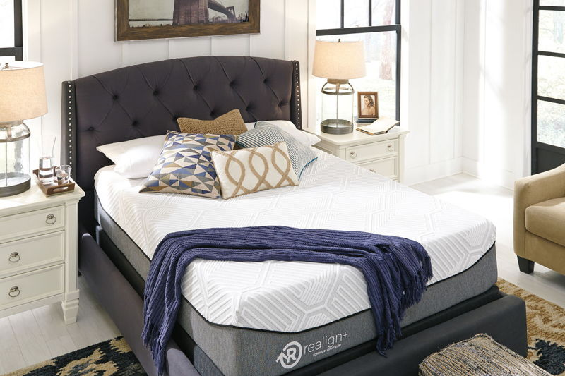 Realign+ 13 Firm - White - Queen Mattress & Foundation