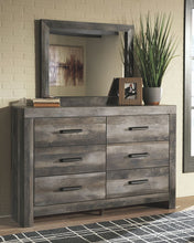 Load image into Gallery viewer, Wynnlow - Gray - 7 Pc. - Dresser, Mirror, Queen Poster Bed & 2 Nightstands