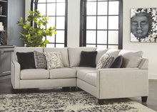 Load image into Gallery viewer, Hallenberg - Fog - LAF Loveseat & RAF Sofa with Corner Wedge Sectional