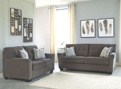 Alsen - Granite - Sofa & Loveseat