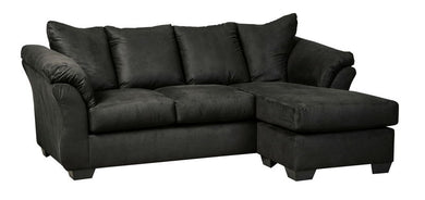 Darcy - Black - Sofa Chaise