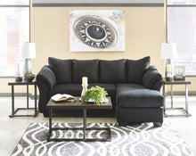 Load image into Gallery viewer, Darcy - Black - Sofa Chaise