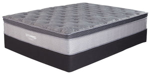 Augusta - White - Queen Mattress & Foundation