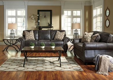 Breville - Charcoal - Sofa & Loveseat