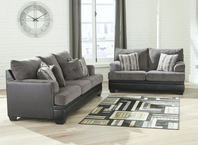 Millingar - Smoke - Sofa & Loveseat