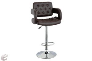 Wide PU Bar Stool