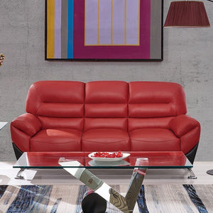 Red & Black Sofa