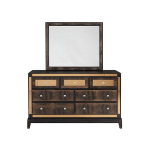 MIRROR CHOCOLATE Bedroom Set