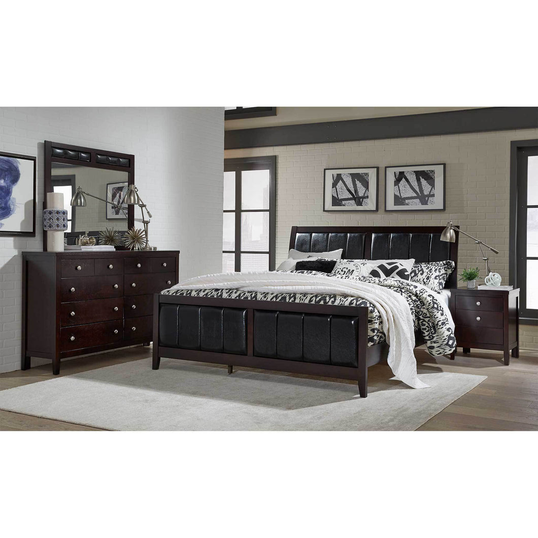 ROSA Bedroom Set 5 PCS. Q.BED,DR,MR,NS,CH