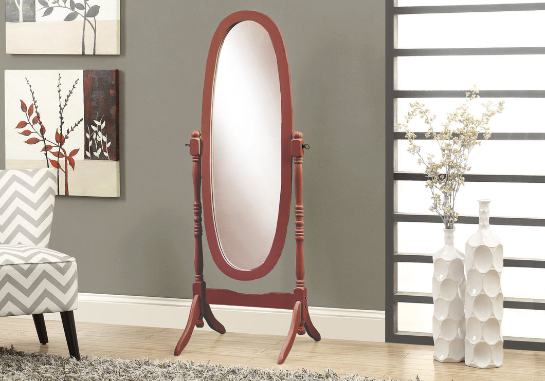 Traditional Cheval Mirror Cherry
