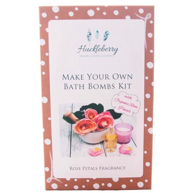 Huckleberry | Make Your Own Bath Bombs - Rose Petals