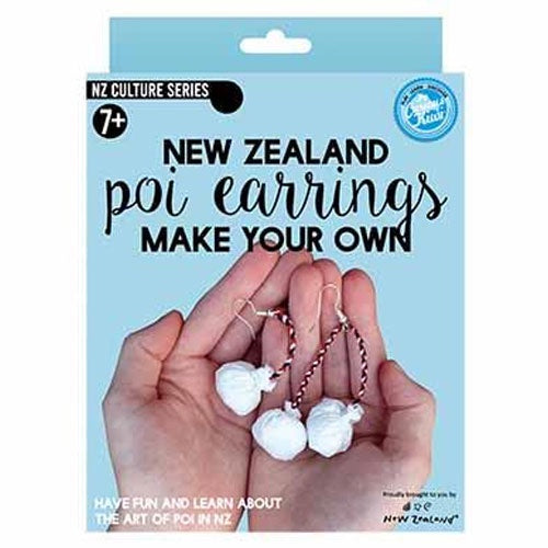 The Curious Kiwi | Make Your Own Poi Earings