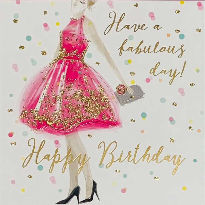 Birthday Card | Have a Fabulous Day!