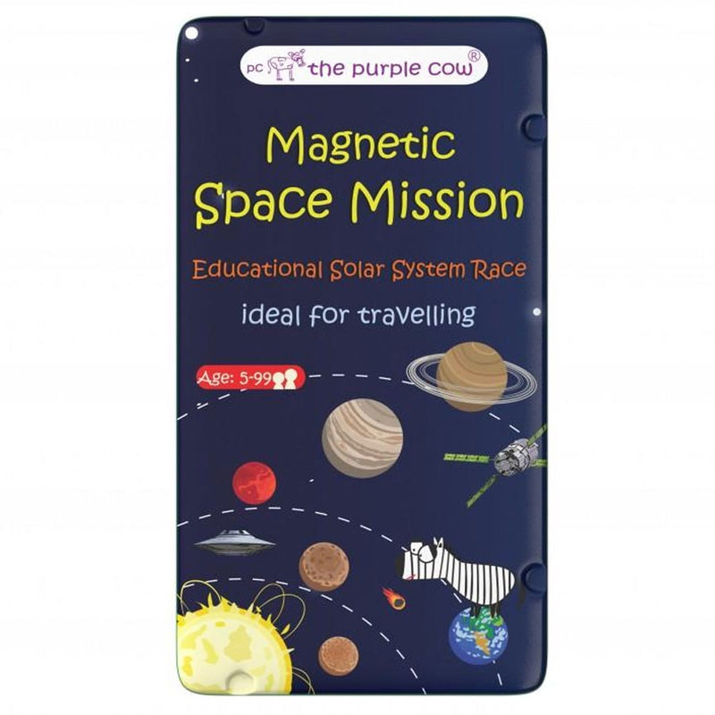 The Purple Cow | Travel Game - Magnetic Space Mission