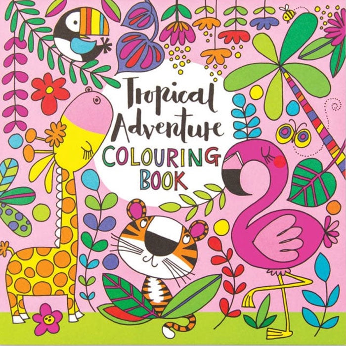 Rachel Ellen Designs | Tropical Adventure Colouring Book