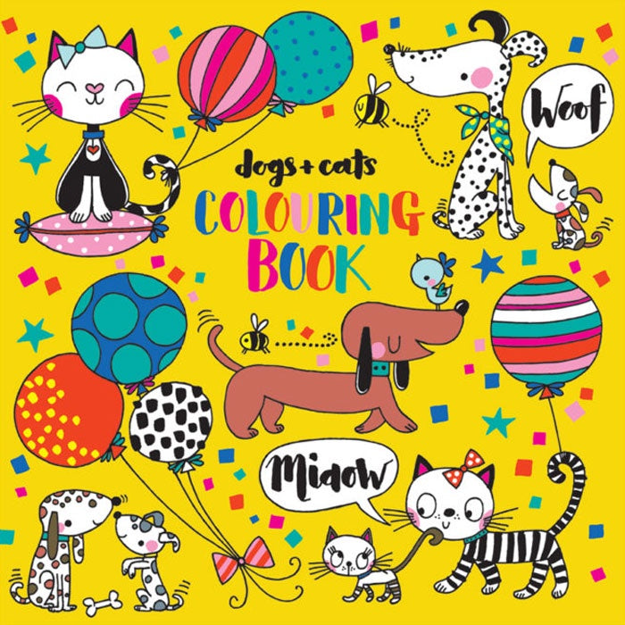 Rachel Ellen Designs | Dogs And Cats Colouring Book