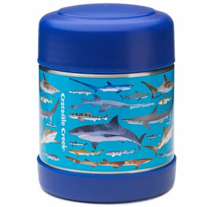 Crocodile Creek | Insulated Food Jar - Shark